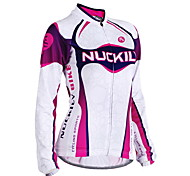 NUCKILY Bike/Cycling Jersey / Jacket / Tops Women's Long SleeveWaterproof / Breathable / Moisture Permeability / Water Bottle Pocket /
