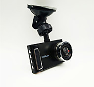 Dual Camera Car DVR Full HD 1080P Wide Angle 170 Degree Motion Detection USB With Backing Camera