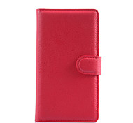 PU Leather Wallet Flip Case For Microsoft Lumia 535