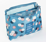 Toiletry Bag for Travel Storage Fabric-Yellow Red Blue