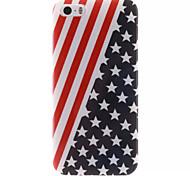 American Flag Design IMD+TPU Back Cover Case iPhone SE iPhone 5 iPhone 5S