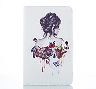Cartoon Style Good Quality PU Leather Folio Case for Samsung Galaxy Tab E 9.6/Tab 3 Lite/Tab A 9.7/ Tab 4 7.0
