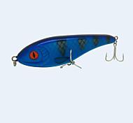 """1 pc Esche rigide Blu scuro 76 g/> 1 Oncia,160 mm/6"""" pollice,Plastica dura / Tessuto sinteticoPesca di mare / Pesca a mosca / Pesca a"""