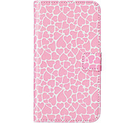 Love Pattern Embossed PU Leather Case for Sony Xperia Z5/ Xperia Z5 Compact