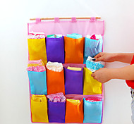 High-quality Non-woven Storage Bag Multicolored Multi-pocket 12 Grid