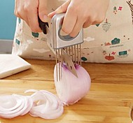coupe outils support trancheuse de légumes tomate oignon facile gadgets de cuisine en acier inoxydable mains plus puantes