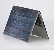 """cubierta completa dura grano de madera de diseño mate caja de cuerpo para el macbook MacBook Pro de 13 """"/ 15 '' con la retina"""