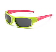 Kids Fashion Cute Colorful Rectangle Sunglasses (Random Color)
