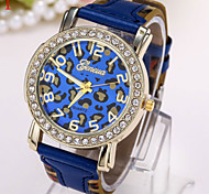 Ladies' Watch Fashion Leopard Print Multicolor Dial Strap Watch