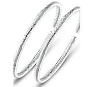 Женский Браслет цельное кольцо бижутерия Стерлинговое серебро Бижутерия Назначение Свадьба Для вечеринок Повседневные