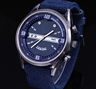 Men's Fashion Nylon Wrist Watches Cool Watch Unique Watch