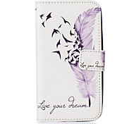 Feather Embossed PU Leather Case for Galaxy J5(2016)/ Galaxy Grand Prime/ Galaxy Grand Prime/ Galaxy J5