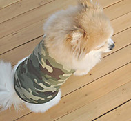 Comfortable Breathability CamouflagePet Dress