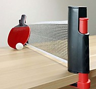 Portable Retractable Table Tennis Net Rack Replacement PingPong Kit Sport