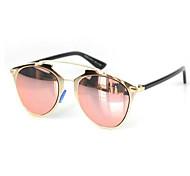 Sunglasses Women's Modern / Fashion Cat-eye Black / Silver / Gold Sunglasses Full-Rim