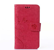 PU Leather Wallet Flip Pattern Case For Samsung Galaxy Core 2 G355H