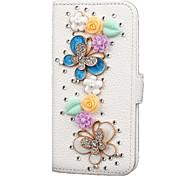 New flip PU leather Strobe diamond phone Case for Samsung Galaxy s7edge / s7 / s6edge / s6 / s5 / s4 / s3 / s2