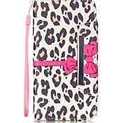 For iPhone 6 Case / iPhone 6 Plus Case Wallet / with Stand / Flip Case Full Body Case Leopard Print Hard PU LeatheriPhone 6s Plus/6 Plus