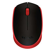 Original Logitech M171 Optical Wireless Mouse with Nano Receiver for Windows OS X Chrome OS Desktop Black Red Blue