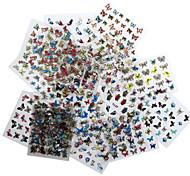 1-Autocollants 3D pour ongles / Bijoux pour ongles / Bouts pour moitiés d'ongles / Bouts  pour ongles entiers-Doigt / Orteil / Autre- en