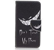 Tooth Painted PU Phone Case for Huawei Y560