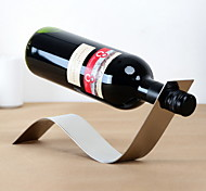 S Design Vintage Stainless Steel Wine Rack