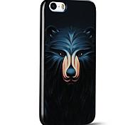 em relevo urso caso bonito ultra fino protetor tampa traseira macia do iphone para iphone 5s / iphone SE / iphone 5