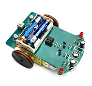 intelligente Tracking-Car Kit D2-1 Linie Streifenwagen Teile diy elektronische Produktion