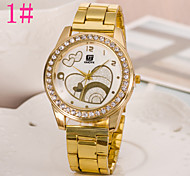 Unisex Fashion Watch Fashion Full Of Diamond Alloy Quartz Watch Men And Women Love Cool Watches Unique Watches