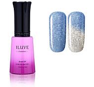 ILuve Nail Polish Temperature Colour Changing Chameleon UV Led Gel - For Nail Art - Long Lasting Soak Off Varnish # 5746