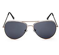 Vintage Stype Full-Rim Flyer Avitor Sunglasses UV400 (Gray Lens)