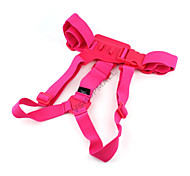 Elastic Adjustable Chest Strap Belt Mount for GoPro Hero 1 Hero 2 Hero 3 Hero 3+ Sports Camera Pink