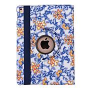 360 graus porcelana azul e branca de couro pu caso da tampa da aleta para ipad AIR3 / ipad pro mini (cores sortidas)