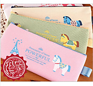 Pen Bag The New Cartoon Oxford Cloth Zipper Bag Lovely Pony Pen Bag