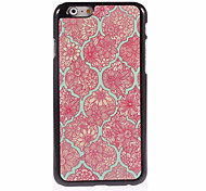 Chinese Wind Pattern Metal Sheet PC Bottom IML With Back Case For Iphone6/6s