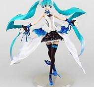 Vocaloid Hatsune Miku 24.5CM Figure Anime Azione Giocattoli di modello Doll Toy