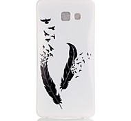 Feather Pattern TPU Back Case for Galaxy A5(2016)/Galaxy A5(2016)