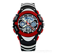 Kids' Sport Watch Digital Watch Digital LCD Calendar Chronograph Water Resistant / Water Proof Dual Time Zones Sport Watch PU Band
