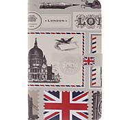 francobolli britannici custodia per armi per Galaxy TAB4 10.1 / 8.0 / 7.0 / tab3 lite / scheda s2 9,7 / s2 8,0 / a9.7 / a8.0 / e9.6 / e8.0