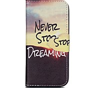 Finger Sunrise Painted PU Phone Case for iphone5SE