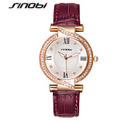 SINOBI Watches Women Rhinestone Quartz watch Reloj Mujer Brand Luxury Crystal Watch Women Fashion Wristwatches Cool Watches Unique Watches