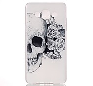 Skull Pattern PC Phone Case For Samsung Galaxy A5 / A3 / A3(2016) /A5(2016) /A7(2016)