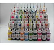 basekey tatuaggio o trucco colori di inchiostro 40 x 5 ml