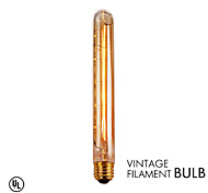 GMY 1PC T30 8Molybdenum wire Vintage bulb 40W E26 Warm White AC120V Decorate bulb