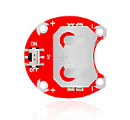 KEYES LilyPad Wearable CCR - 2004 (Red) Button Battery Module Without The Battery