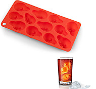 Freeze Ice Cube Scream Style Ice Tray Ice Cubes Mould (Random Color)