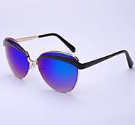 Unisex's New Fashion 100% UV400 Browline Sunglasses
