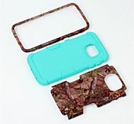 silicone camada dupla&plástico rígido 3 em 1 armadura de proteção híbrida de volta caso para cobertura de telefone celular samsung