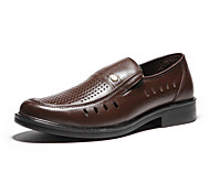 Aokang® Men's Super Breathable Leather Loafers(brown)