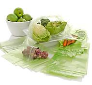 100pcs Vehículos de la cocina de la fruta de alimentos de bolsa reutilizable bolsas de almacenamiento de verduras frescas